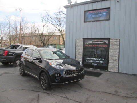 2018 Kia Sportage for sale at Access Auto Brokers in Hagerstown MD