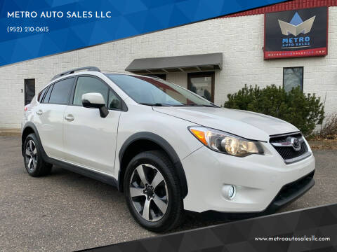 2014 Subaru XV Crosstrek for sale at METRO AUTO SALES LLC in Blaine MN