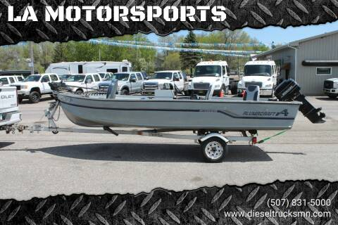1986 Alumacraft LUNKER V16 DLX for sale at LA MOTORSPORTS in Windom MN