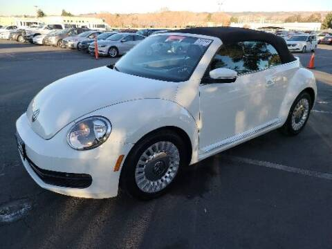 2015 Volkswagen Beetle Convertible for sale at Brand Motors llc in Belmont CA