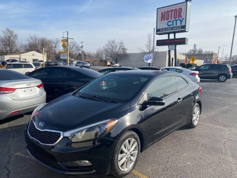 2016 Kia Forte Koup for sale at Motor City Sales in Wichita KS