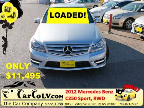 2012 Mercedes-Benz C-Class for sale at The Car Company in Las Vegas NV