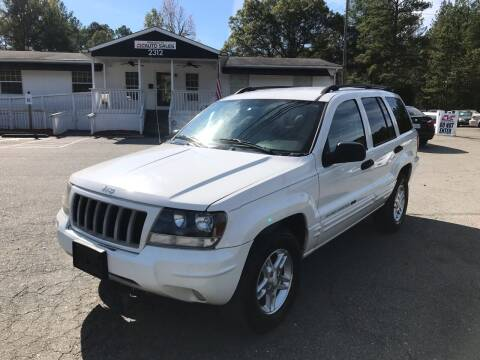 2004 Jeep Grand Cherokee for sale at CVC AUTO SALES in Durham NC