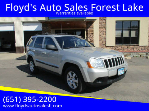 2009 Jeep Grand Cherokee for sale at Floyd's Auto Sales Forest Lake in Forest Lake MN