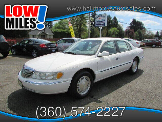 1998 Lincoln Continental for sale at Hall Motors LLC in Vancouver WA
