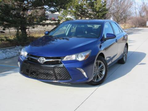 2016 Toyota Camry for sale at A & R Auto Sale in Sterling Heights MI