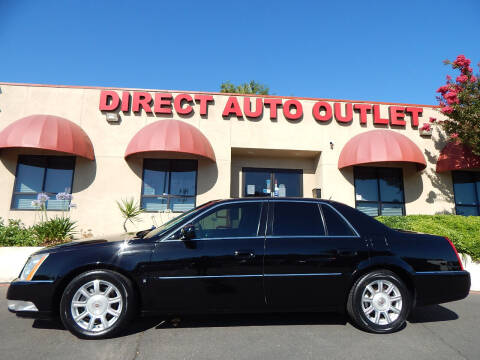 2008 Cadillac DTS for sale at Direct Auto Outlet LLC in Fair Oaks CA