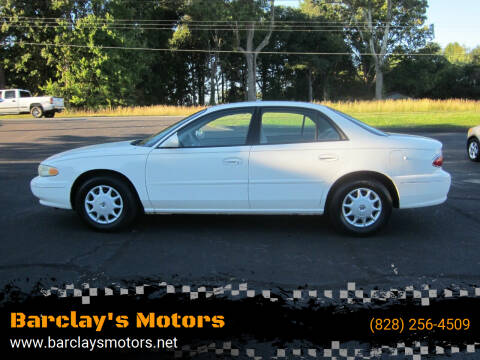 2003 Buick Century for sale at Barclay's Motors in Conover NC