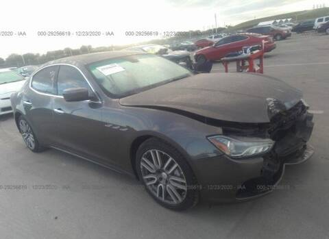 2016 Maserati Ghibli for sale at STS Automotive - Miami, FL in Miami FL