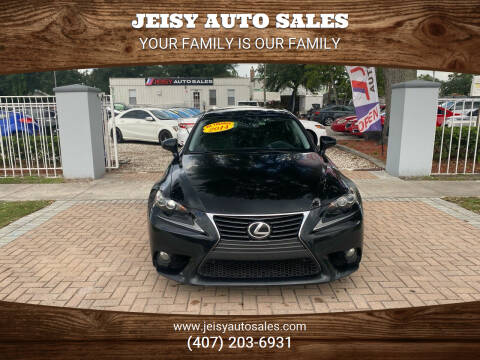 2014 Lexus IS 250 for sale at JEISY AUTO SALES in Orlando FL