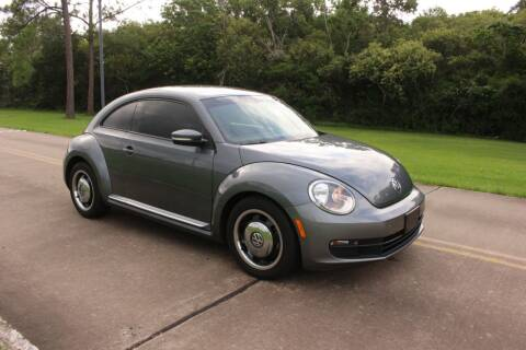 2012 Volkswagen Beetle for sale at Clear Lake Auto World in League City TX
