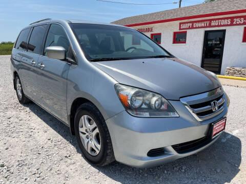 2007 Honda Odyssey for sale at Sarpy County Motors in Springfield NE
