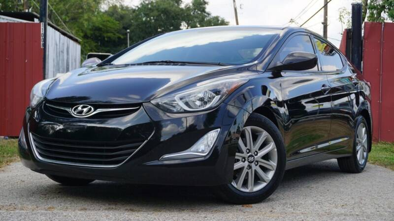 2016 Hyundai Elantra for sale at Hidalgo Motors Co in Houston TX