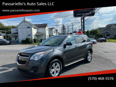 2011 Chevrolet Equinox for sale at Passariello's Auto Sales LLC in Old Forge PA