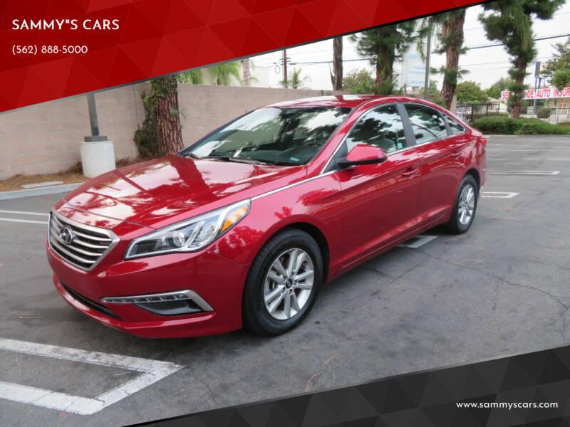 "2015 Hyundai Sonata for sale at SAMMY""S CARS in Bellflower CA"