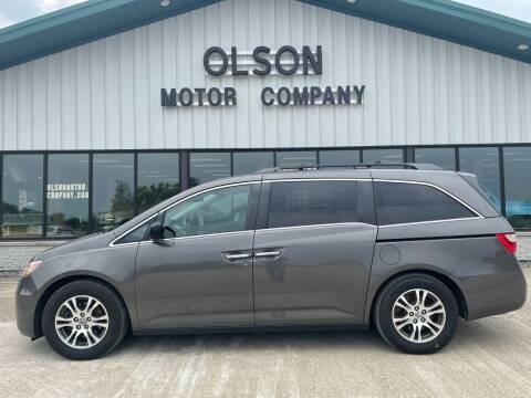 2013 Honda Odyssey for sale at Olson Motor Company in Morris MN