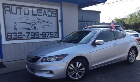 2012 Honda Accord for sale at AUTO LEADS in Pasadena TX