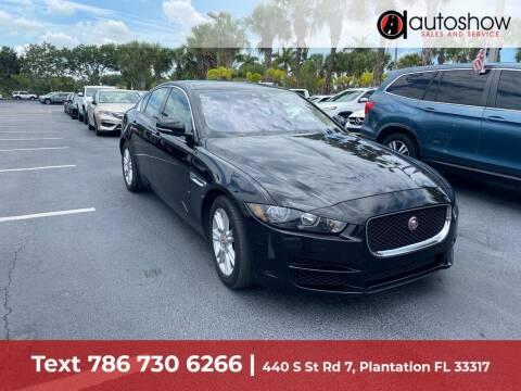 2018 Jaguar XE for sale at AUTOSHOW SALES & SERVICE in Plantation FL