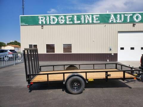 2022 Big Tex 6.5X14 for sale at RIDGELINE AUTO in Chubbuck ID