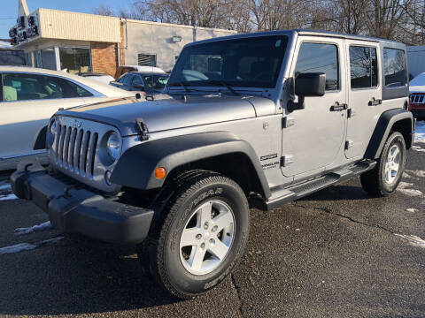 2016 Jeep Wrangler Unlimited for sale at SKY AUTO SALES in Detroit MI