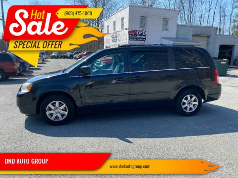 2008 Chrysler Town and Country for sale at DND AUTO GROUP in Belvidere NJ