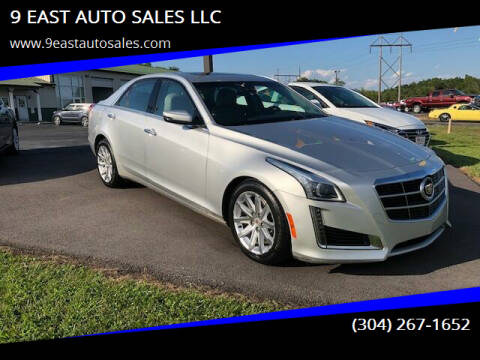 2014 Cadillac CTS for sale at 9 EAST AUTO SALES LLC in Martinsburg WV