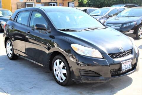 2009 Toyota Matrix for sale at FJ Auto Sales in North Hollywood CA