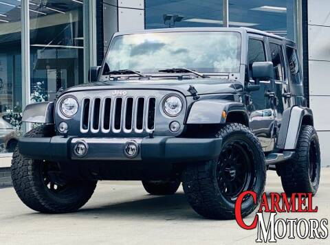 2018 Jeep Wrangler JK Unlimited for sale at Carmel Motors in Indianapolis IN