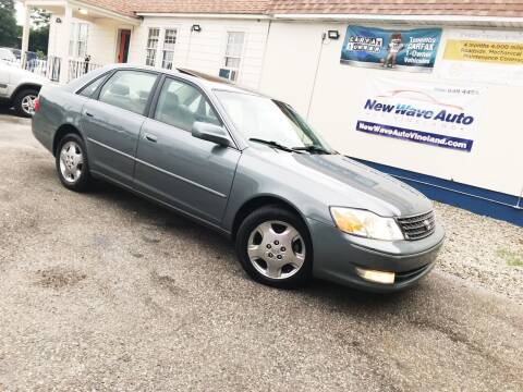 2004 Toyota Avalon for sale at New Wave Auto of Vineland in Vineland NJ