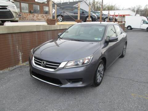 2015 Honda Accord for sale at WORKMAN AUTO INC in Pleasant Gap PA