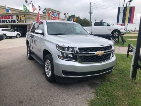 2019 Chevrolet Tahoe for sale at FREDY CARS FOR LESS in Houston TX