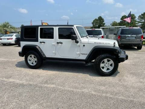2009 Jeep Wrangler Unlimited for sale at Rodgers Enterprises in North Charleston SC