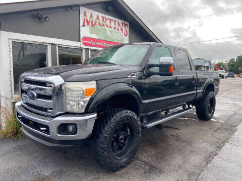 2015 Ford F-250 Super Duty for sale at Martins Auto Sales in Shelbyville KY