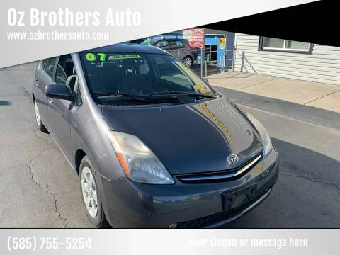 2007 Toyota Prius for sale at OZ BROTHERS AUTO in Webster NY