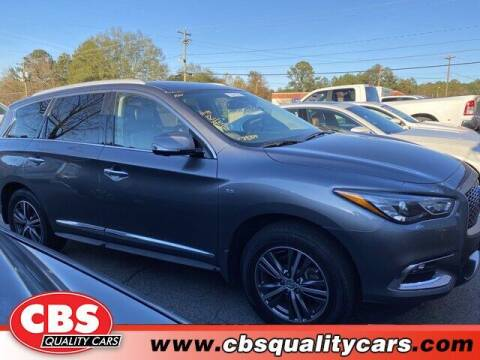 2017 Infiniti QX60 for sale at CBS Quality Cars in Durham NC