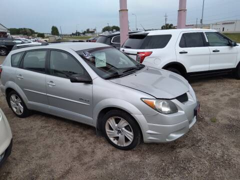 2003 Pontiac Vibe for sale at Ron Lowman Motors Minot in Minot ND
