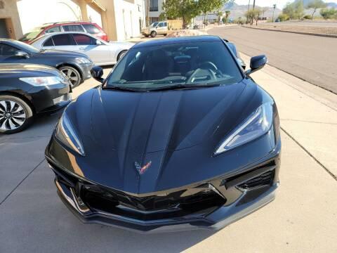 2021 Chevrolet Corvette for sale at Carzz Motor Sports in Fountain Hills AZ