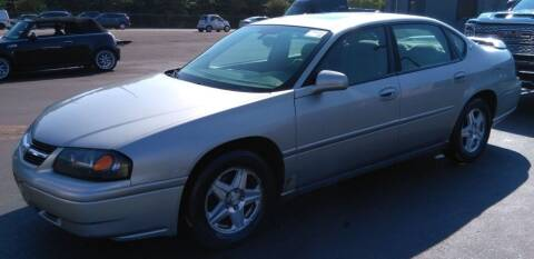 2005 Chevrolet Impala for sale at Angelo's Auto Sales in Lowellville OH