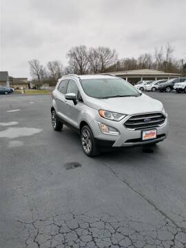 2018 Ford EcoSport for sale at McCully's Automotive in Benton KY