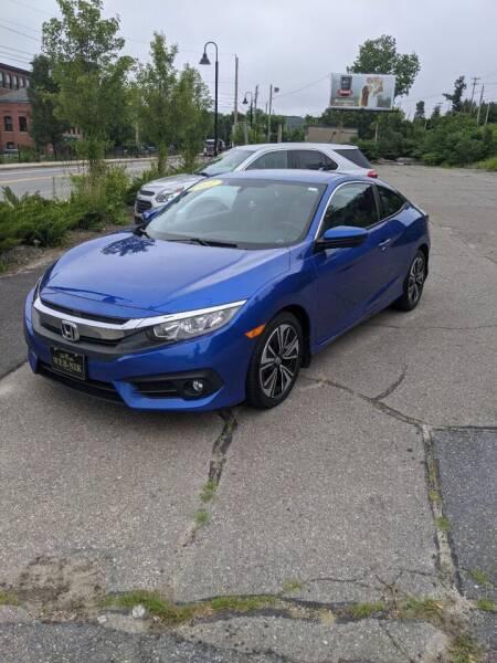 2017 Honda Civic for sale at WEB NIK Motors in Fitchburg MA