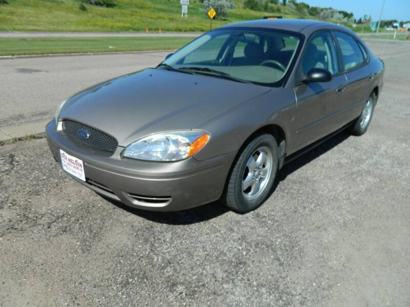 2004 Ford Taurus for sale at Dick Nelson Sales & Leasing in Valley City ND