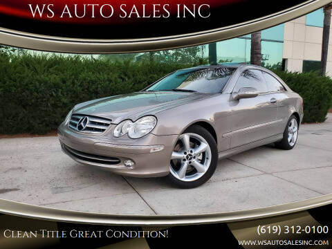 2004 Mercedes-Benz CLK for sale at WS AUTO SALES INC in El Cajon CA