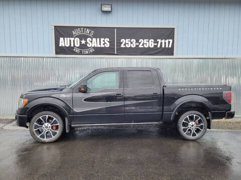 2012 Ford F-150 for sale at Austin's Auto Sales in Edgewood WA