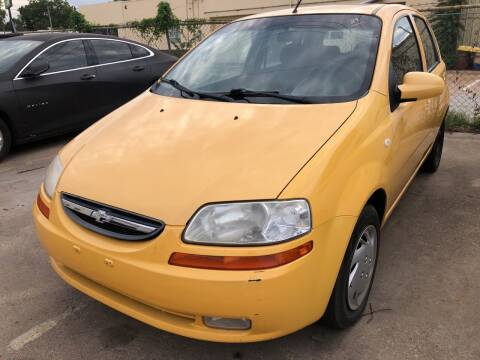 2008 Chevrolet Aveo for sale at Auto Access in Irving TX