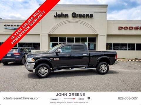 2018 RAM Ram Pickup 2500 for sale at John Greene Chrysler Dodge Jeep Ram in Morganton NC