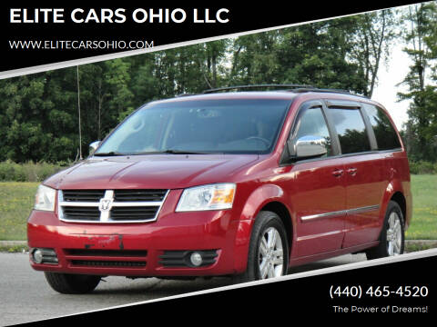 2008 Dodge Grand Caravan for sale at ELITE CARS OHIO LLC in Solon OH