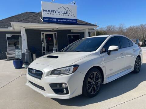 2015 Subaru WRX for sale at Maryville Auto Sales in Maryville TN