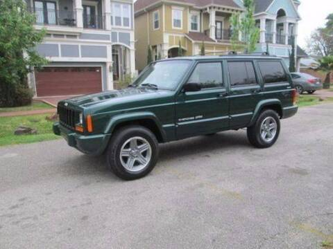 2001 Jeep Cherokee for sale at Frontline Select in Houston TX