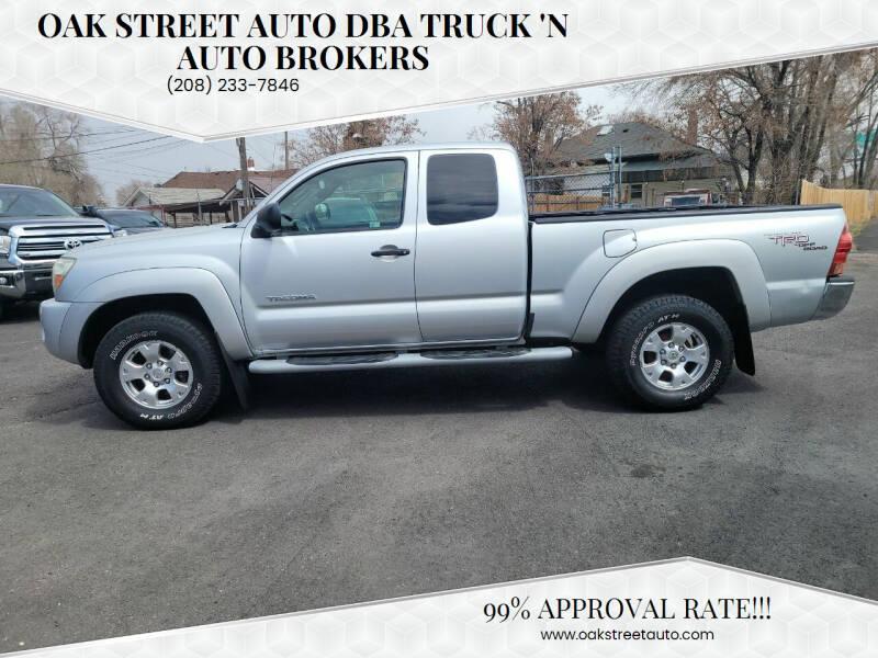 2007 Toyota Tacoma for sale at Oak Street Auto DBA Truck 'N Auto Brokers in Pocatello ID