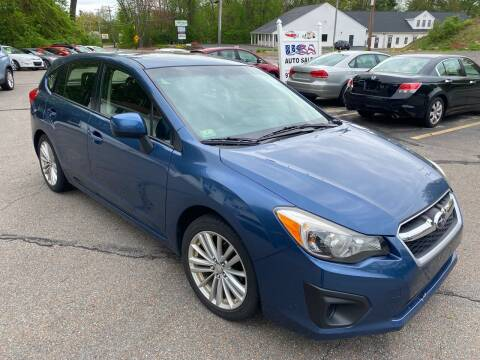 2013 Subaru Impreza for sale at USA Auto Sales in Leominster MA